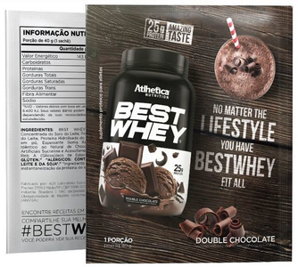 Best Whey Sabor Chocolate (35g Sachê) - Atlhetica Nutrition