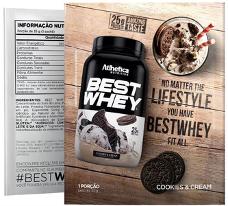 Best Whey - Atlhetica Nutrition - Cookies - 35g (Sachê)