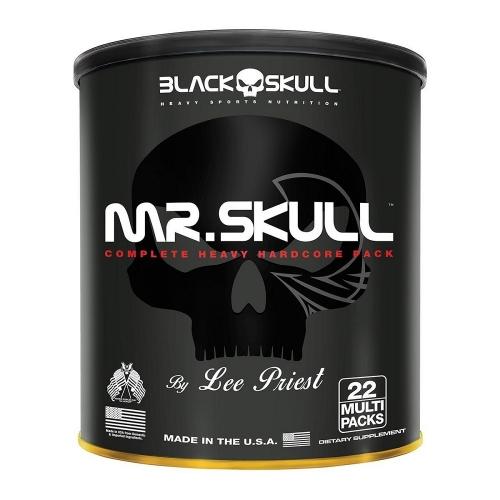 Mr. Skull - Black Skull - 22 Multi Packs