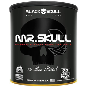 Mr. Skull - Black Skull - 22 Multi Packs