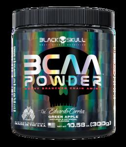 BCAA Powder - Black Skull - Maçã Verde - 300g