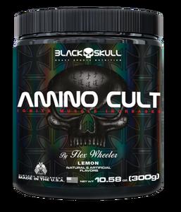 Amino Cult - Black Skull - 300g - Limão