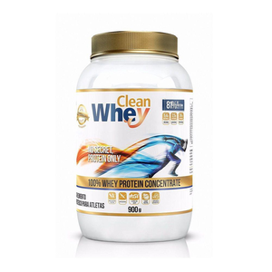 Clean Whey Concentrada - 900g - Baunilha
