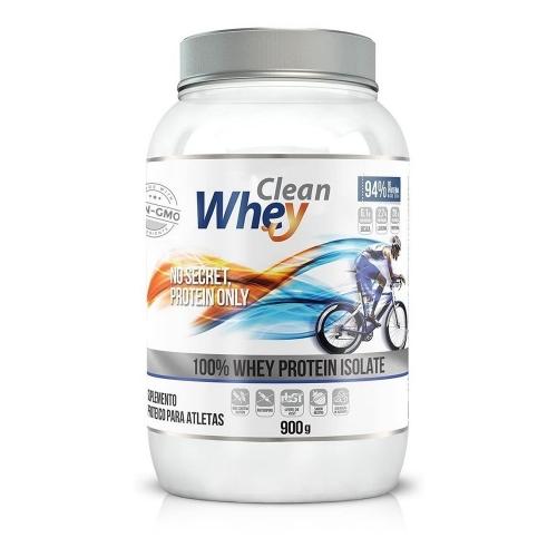 Clean Whey Isolada - 900g - Cacau Belga