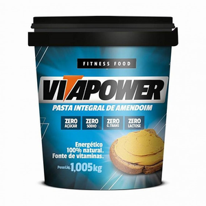 Pasta de Amendoim - Vitapower - 1Kg