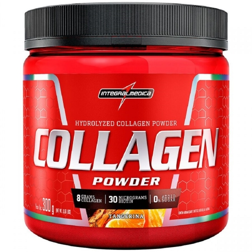 Collagen Powder - Tangerina - Integralmédica - 300g