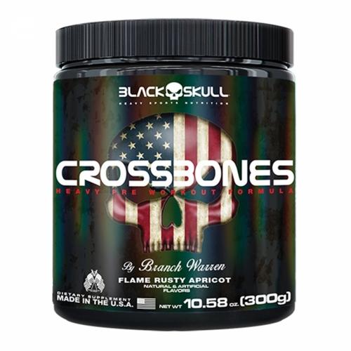 CROSSBONES - Black Skull - 300g