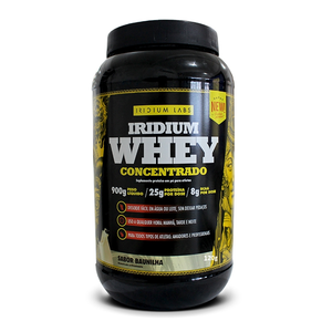 WHEY PROTEIN CONCENTRADO - 900G (Chocolate Belga) IRIDIUM LABS