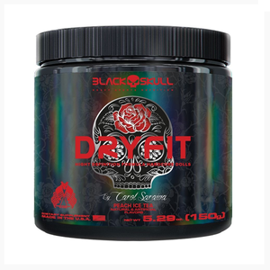 Dry Fit  Chá de Pessego - (150g) Black Skull