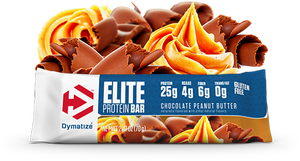 Elite Protein Bar - Dymatize (1 Unidade) Chocolate C/ Amendoim - 70g