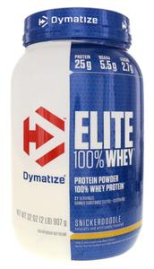 Elite Whey Protein Dymatize Cookie de Canela - 907g