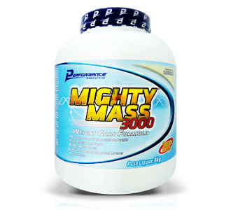 Migthy Mass 300 Performance Nutrition (Baunilha) 3kg