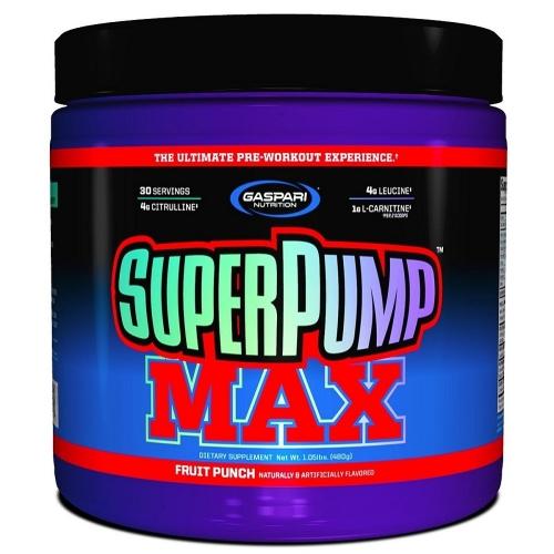 Super Pump Max - Gaspari Nutrition - Fruit Punch - 480g