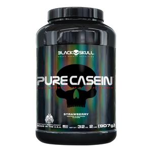 Pure Casein - 907g - (Morango) - Black Skull