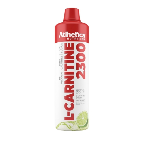 L-Carnitina 2300 - Atlhetica Evolution - Limão - 960 ml