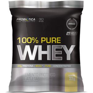 100% Pure Whey Protein - (1 Sachê Baunilha) - Probiótica