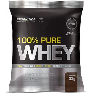100% Pure Whey Protein - (1 Sachê chocolate) - Probiótica
