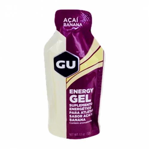 Gu Energy Gel Mr. Tuff Sabor Açai com Banana (1 unidade de 32g) - Gu Energy