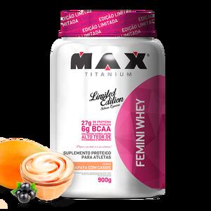 Femini Whey Max Titanium - Papaya - 900g