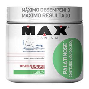 Palatinose - Max Titanium - Natural - 300g