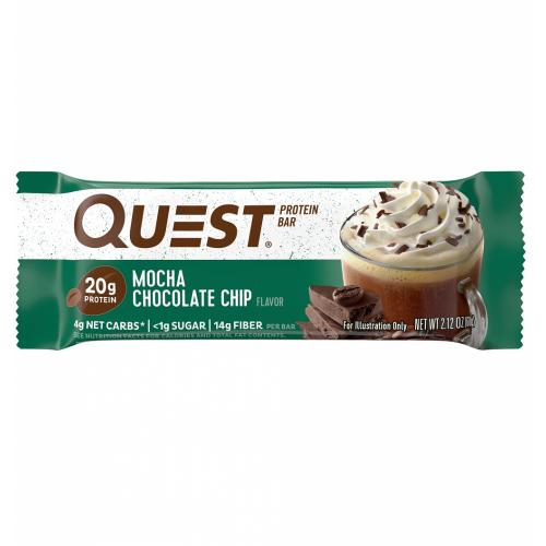 Quest Bar - Protein Bar - Mocha Chocolate Chip - 60g