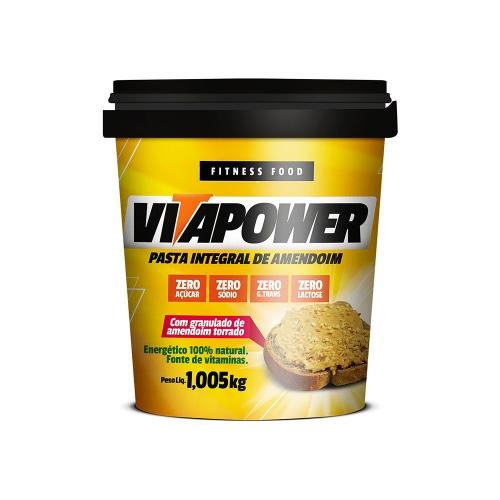 Pasta de Amendoim Crocante - Vitapower
