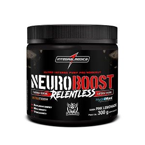 Neuro Boost Relentless -  Pink Lemonade - Integralmédica - 300g
