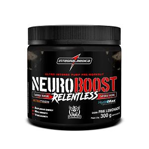 Neuro Boost Relentless -  Pink Lemonade - Integralmédica - 300g