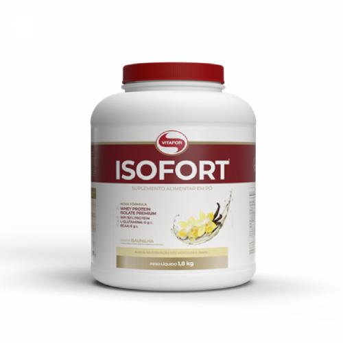 Isofort (Whey Protein Isolate) - Bio Protein - Vitafor Baunilha 1,8Kg