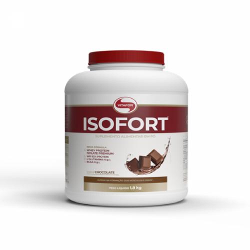 Isofort (Whey Protein Isolate) - Bio Protein - Vitafor Chocolate 1,8Kg