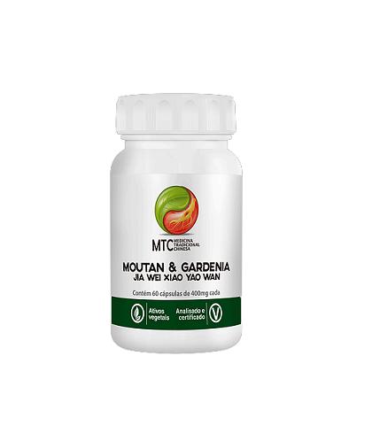 Jia wei Xiao yao Wan ( Moutan & Gardenia) 400mg - MTC Vitafor (60 cápsulas)