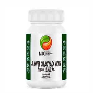 Jiawei Xiaoyao Wan 400mg - MTC Vitafor (60 cápsulas)