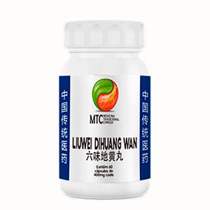 Liuwei Dihuang Wan 400mg - MTC Vitafor (60 cápsulas)