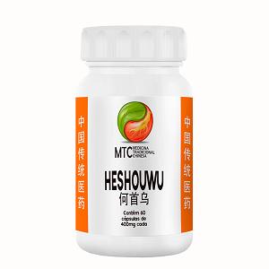 He Shou Wu 400mg - MTC Vitafor (60 cápsulas)