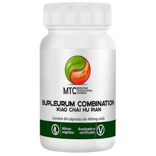 Bupleurum Combination (Xiao Chai Hu Pian 400mg) – MTC Vitafor (60 cápsulas)