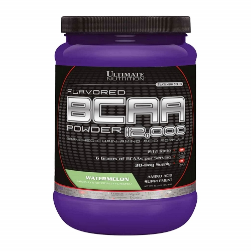 BCAA Powder 12.000 - ( Fruit Punch) - Ultimate Nutrition - 228g