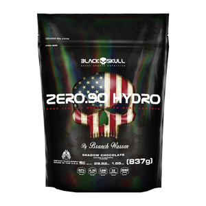 Zero.90 Hydro - Black Skull (Baunilha Refil) 837 g