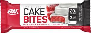 Protein Cake Bites - Red Velvet - Optimum Nutrition - 62g (Unidade)
