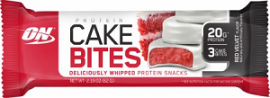 Protein Cake Bites Sabor Red Velvet (1 unidade de 63g) - Optimum Nutrition