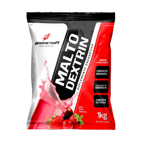 Malto Dextrin Morango - Body Action 1kg