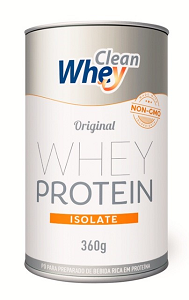Clean Whey Isolate (360g) - Sabor Original