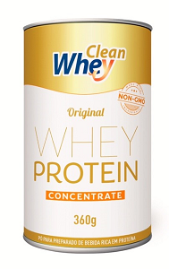 Clean Whey Concentrado Lata 360g - Clean Whey
