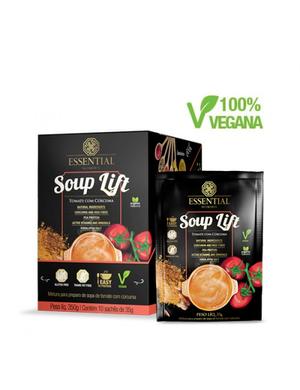 Soup Lift - Tomate com Cúrcuma - Essential 10 Sachê 35g
