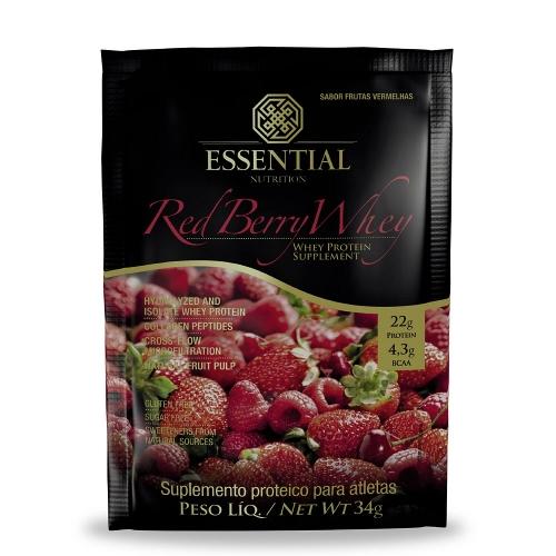 Red Berry Whey Sachê (1 unidade 34g) - Essential