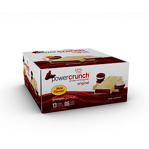 Power Crunch Original Bio Nutricional - Red Velvet - 12 unidades 40g