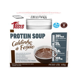 Protein Soup - Caldinho de Feijão - 60g - Mrs Taste