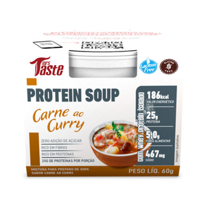 Protein Soup - Carne ao Curry - 60g - Mrs Taste (Val. 19/10/18)