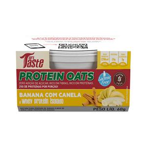 Protein Oats - 60g - Banana com Canela - Mrs Taste  (Val. 17/10/18)