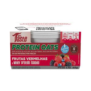 Protein Oats - 60g Frutas Vermelhas - Mrs Taste  (Val. 17/10/18)