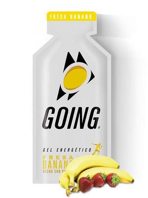 Going Gel Energético - 33g - Morango e Banana (Caixa 24 Unidades)